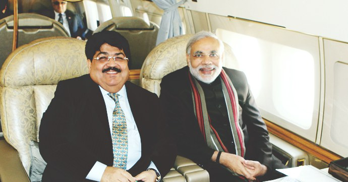 Gujarat CM Narendra Modi Parimal Nathwani-source-Parimal Nathwani website-china delegation