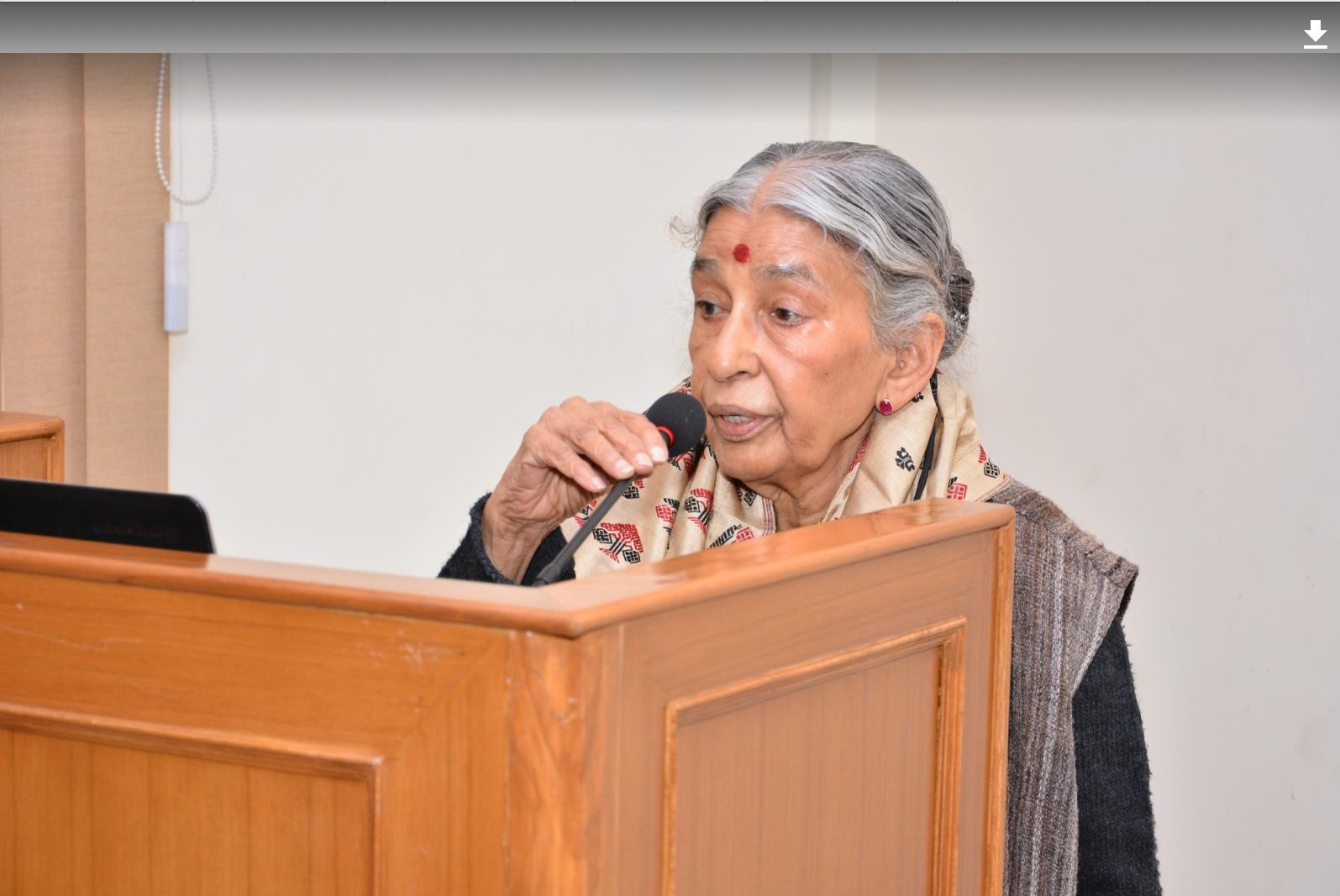 Lotika Varadarajan. Courtesy: Laila Tyabji