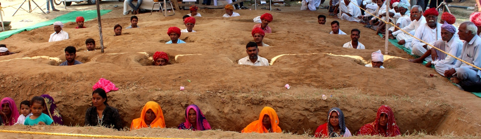 Behind Rajasthan Farmers' Burial Protest, a Story of Bitterness Over Forced Land Sale