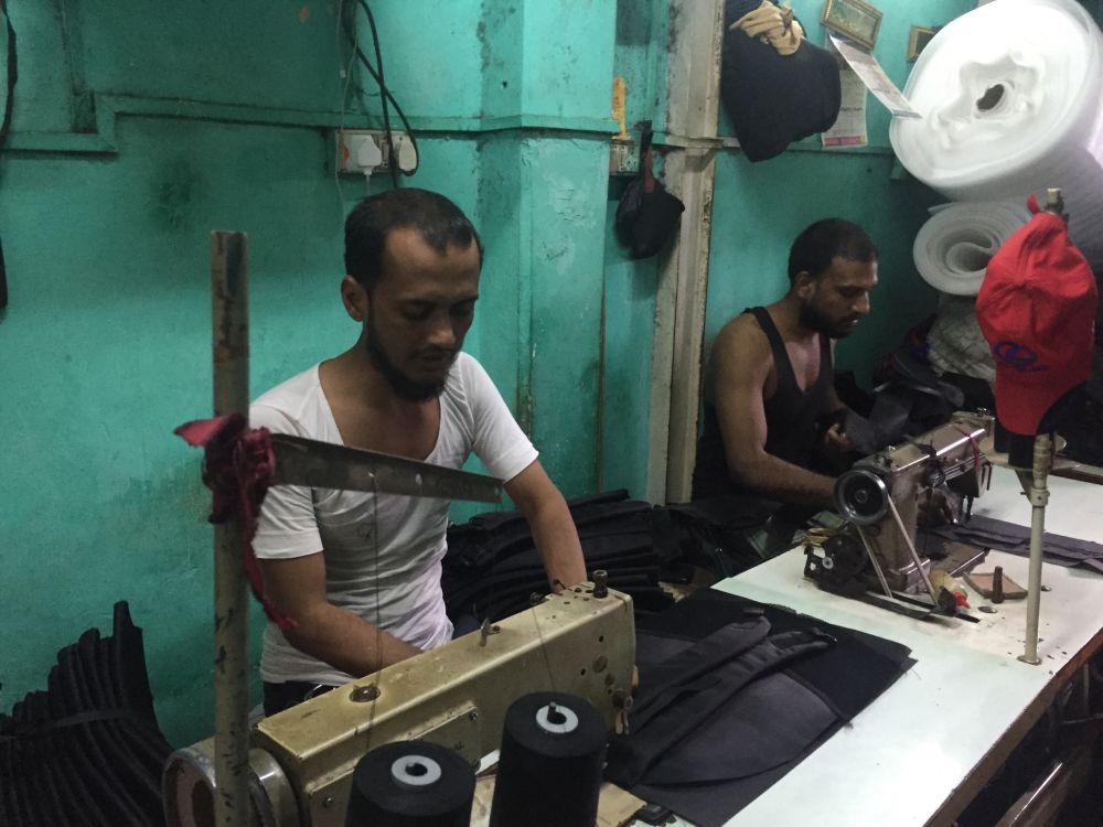 Akeel Ahmad's factory. Credit: Parth M.N.