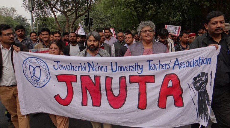 JNU VC Sends Notice to 48 Teachers, Union Calls It 'Vindictive Targeting'