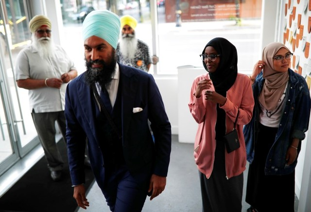 Sikh Politician Wins Race to Lead Canada's New Democratic Party