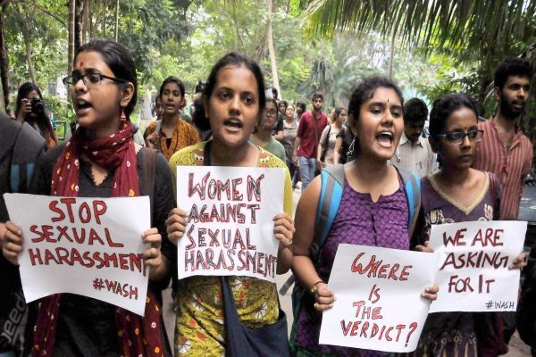 Kolkata group sexual harassment