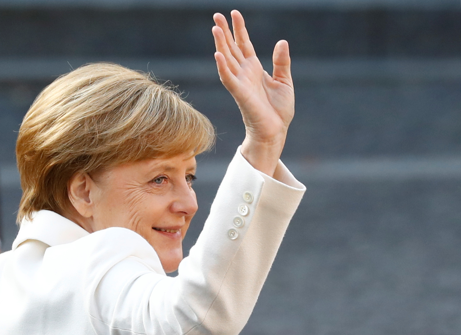 Germany's Merkel says she can work well with any successor