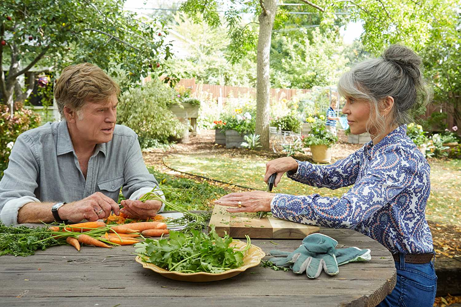 Jane Fonda and Robert Redford in Our Souls at Night.
