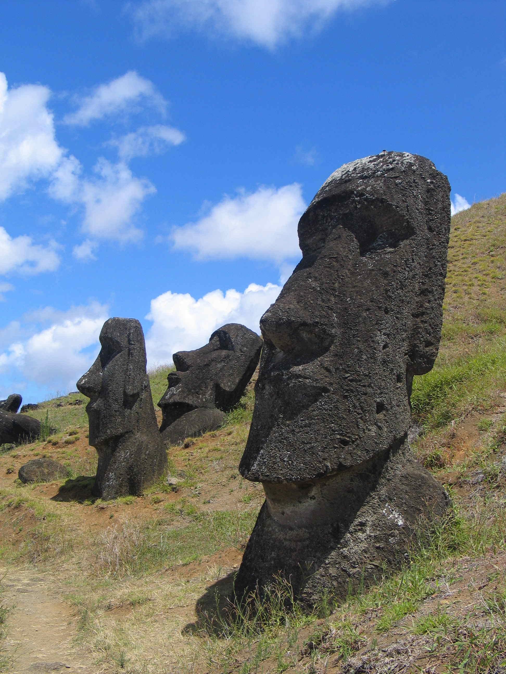 Rapa Nui. Credit: Wikimedia Commons