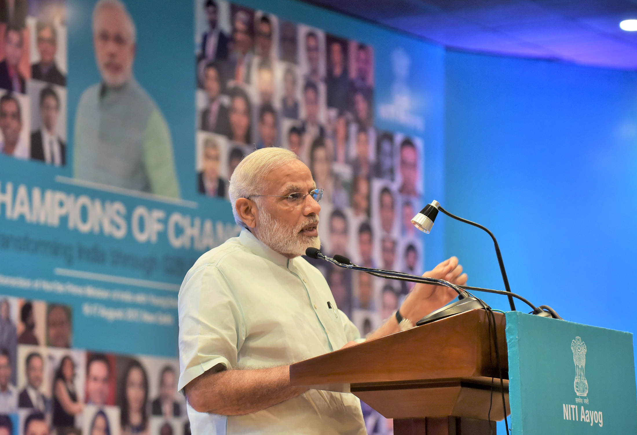 All Around Us, Narendra Modi's Messiah Image Is Quickly Fading
