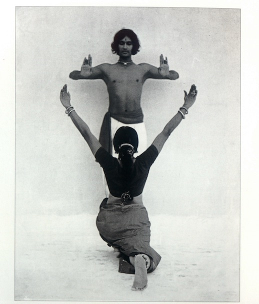 Chandralekha and Kamadev in Navagraha, 1972. Credit: Dashrath patel Archive, Ahmedabad