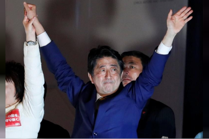 Japan Voters to Deliver Verdict on Prime Minister Shinzo Abe's Nearly Five-Year Rule