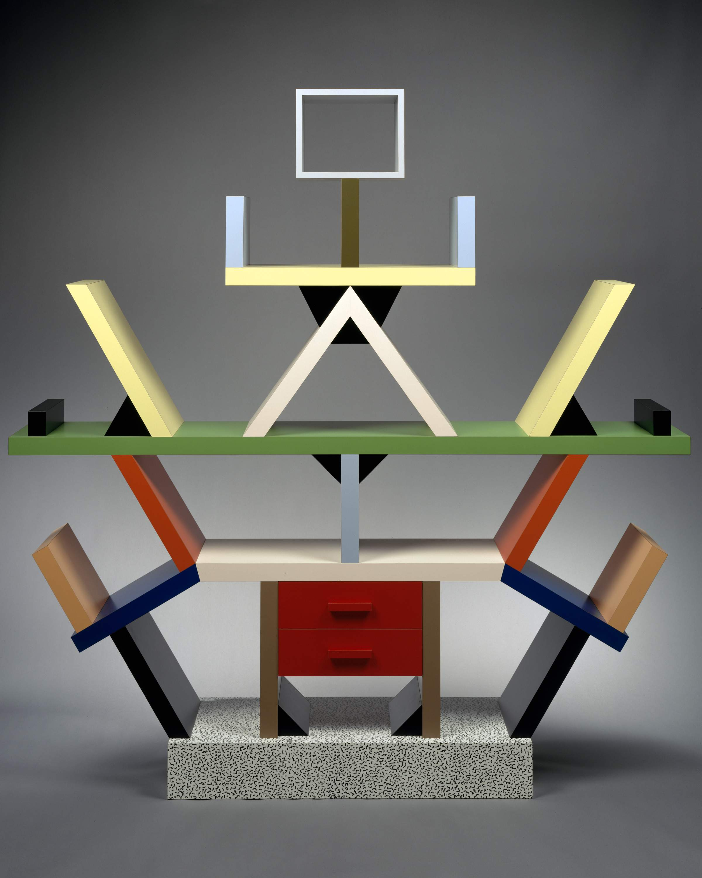 The Carlton Room Divider by Sottsass. Courtesy: Met Breuer