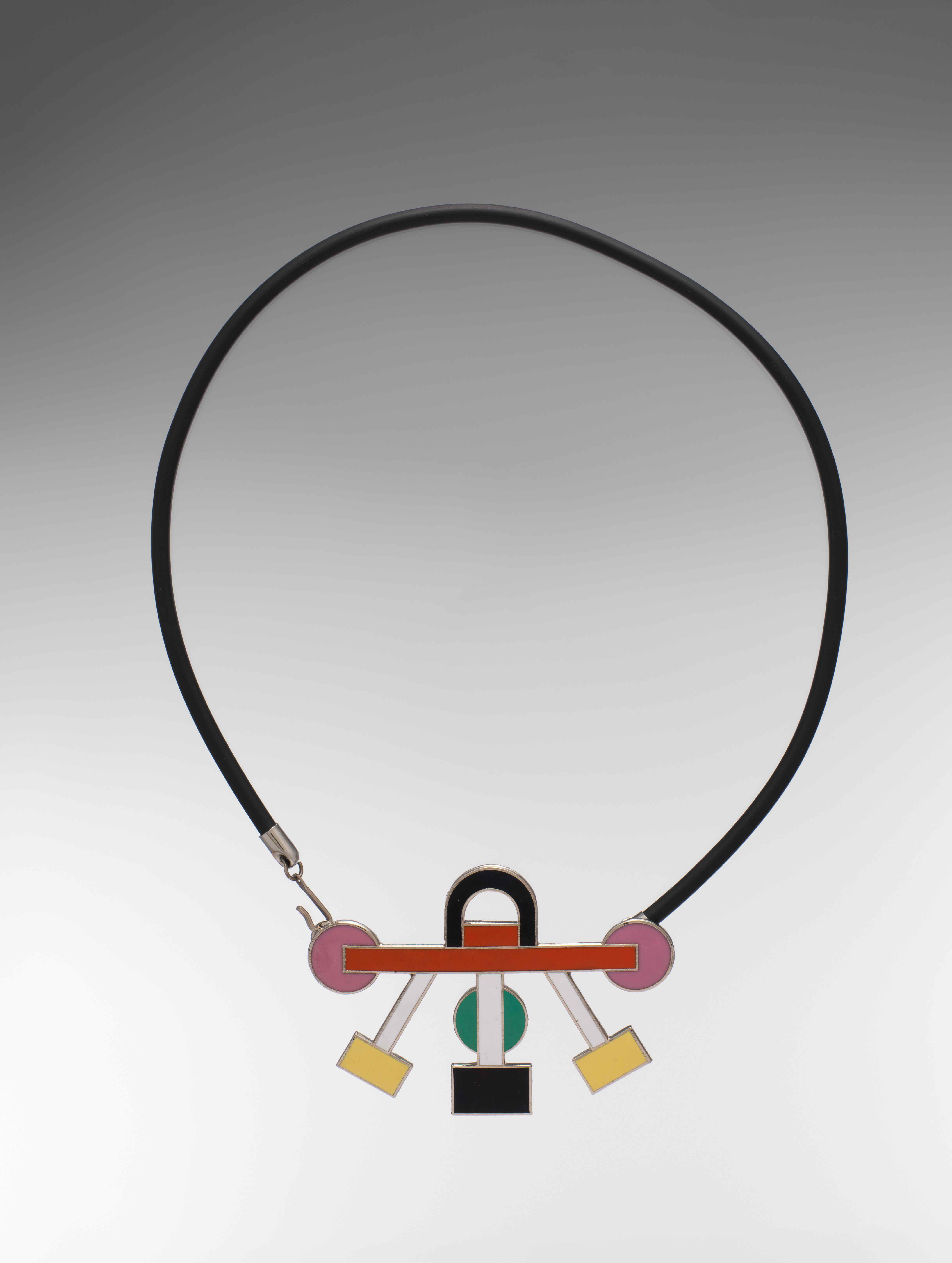 The Euphoria Necklace by Sotsass. Courtesy: Met Breuer