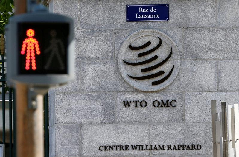 The headquarters of the World Trade Organization (WTO) are pictured in Geneva, Switzerland, April 12, 2017. Credit: Reuters/Denis Balibouse/File Photo