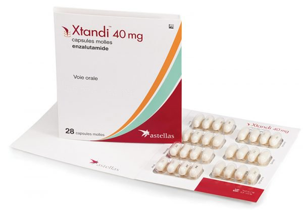 Xtandi is a life-prolonging cancer drug. Credit: Twitter