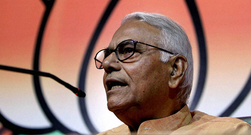 Yashwant Sinha Quits BJP, Says Won't Join Any Other Party
