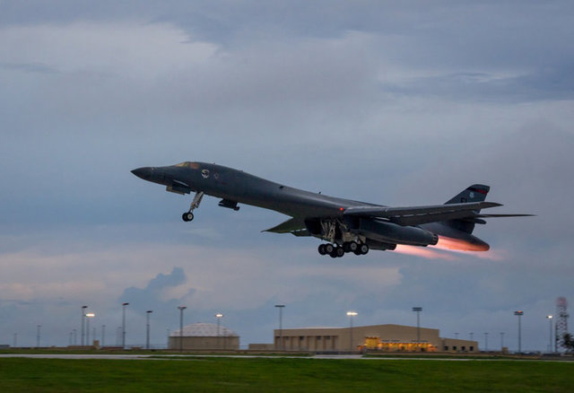As Trump Discusses Options US Flies Bombers Over Korea