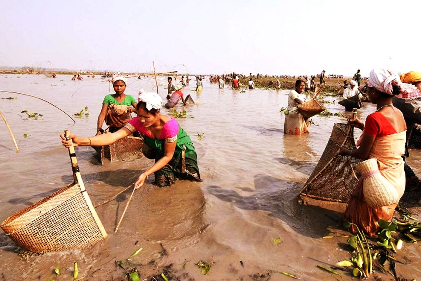 Matsyagandha tells the story of a low-caste woman of Dom or fisher-folk community in upper Assam. Credit: PTI