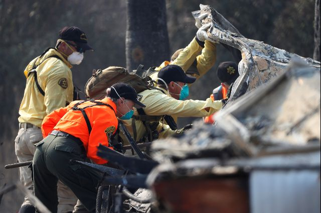 California Wildfires Rage as Record Death Toll Climbs to 35