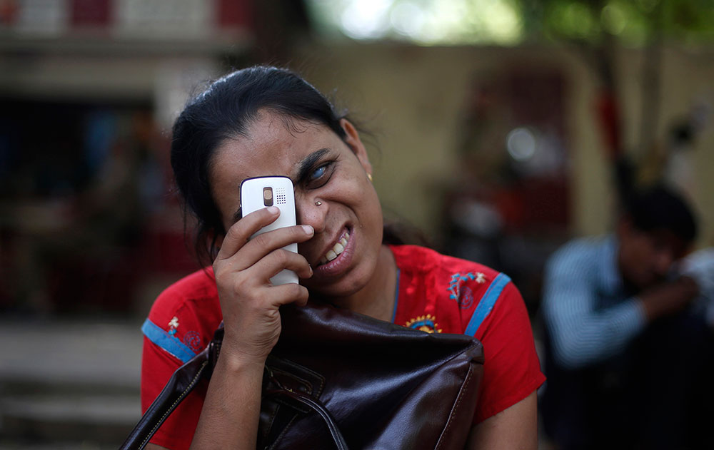 Among persons with disability (PwDs), there exist individuals who have an edge over most others in the community. Credit: Reuters/Vivek Prakash