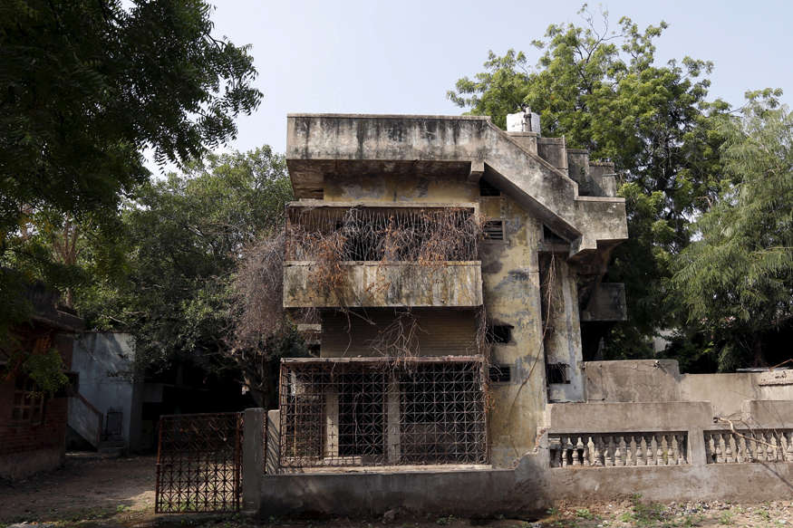 The ancestral home of Ehsan Jafri who was hacked to death by a mob in Gulberg massacre. Credit: Reuters