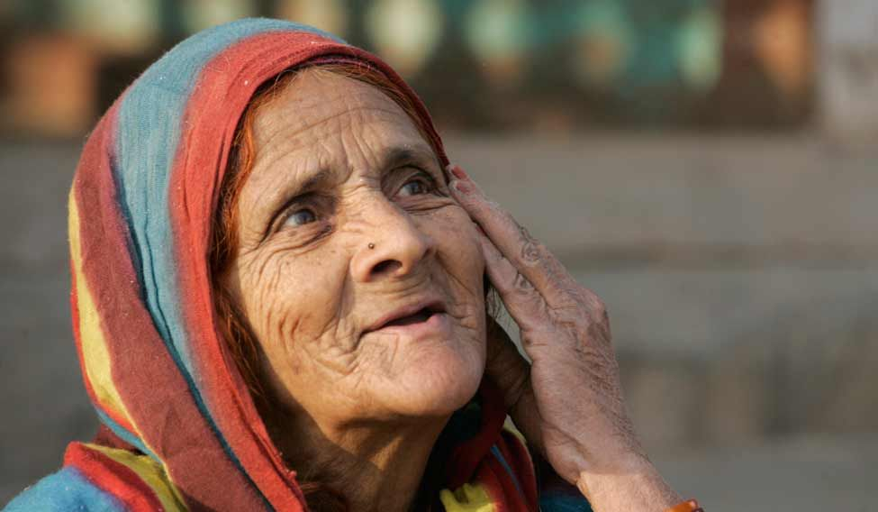 Ageing does not just affect the elderly, it affects everyone in society. Credit: Reuters
