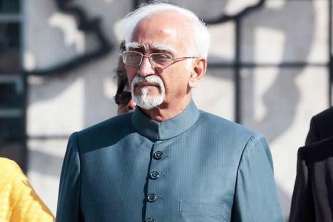 Former Vice President Hamid Ansari. Credit: Reuters