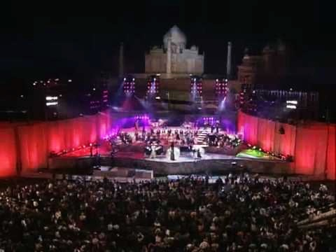 In 1997, Greek singer Yanni staged a concert within the Taj premises