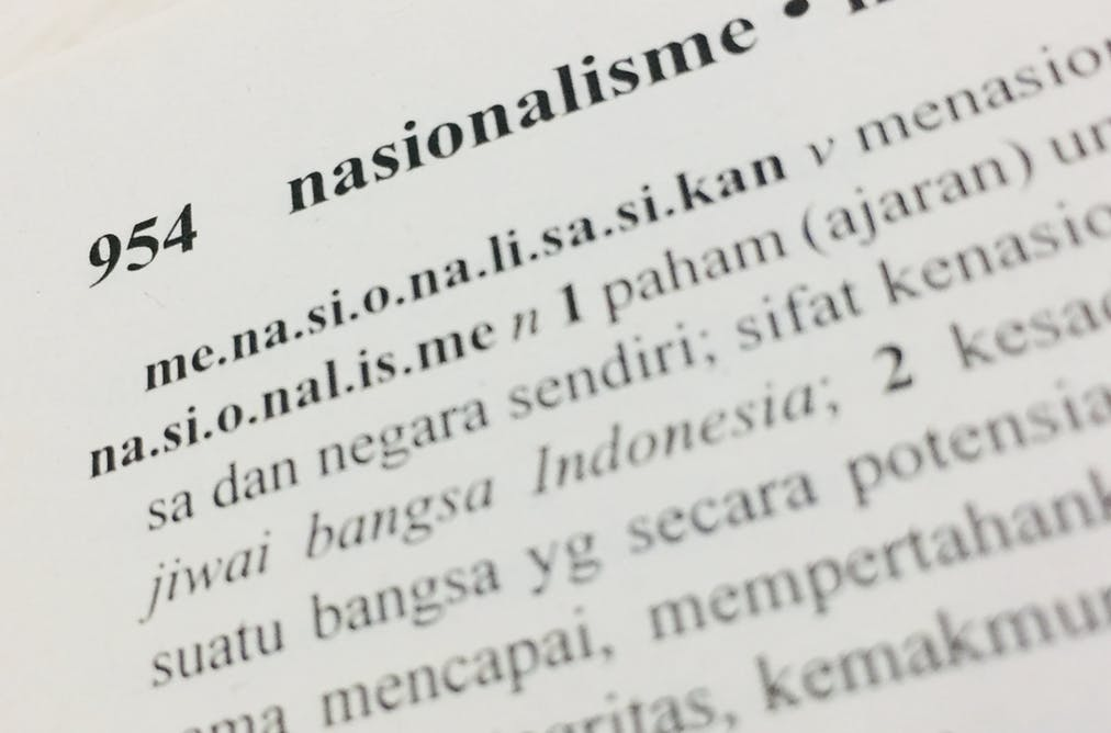Who Speaks Indonesian, 'the Envy of Multilingual World'?