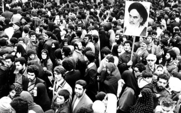 Protesters against the Shah in Tehran, 1979. Credit: Reuters