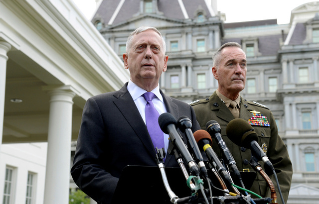 US Defence Secretary James Mattis Suggests Staying in Iran Nuclear Deal
