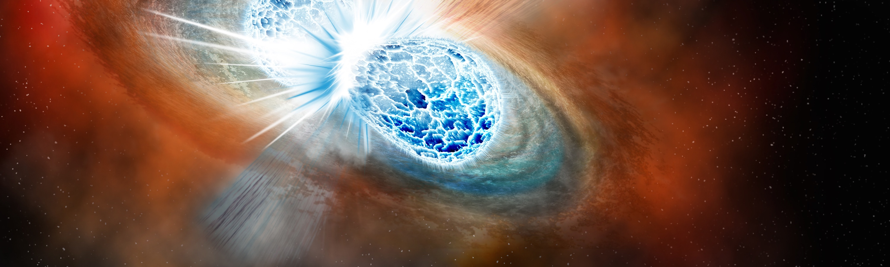 LIGO and Telescopes Spot Spectacular Neutron Star Cataclysm in Record-Breaking Discovery