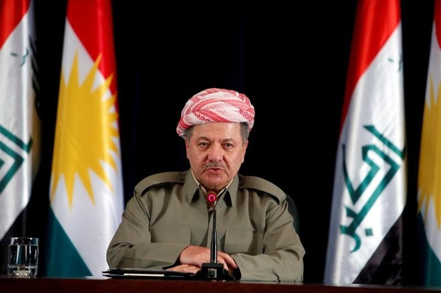 Iraqi Kurdish Leader Barzani Resigns After Independence Vote Gamble