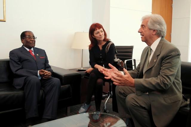 Zimbabwe's Mugabe Removed as WHO Goodwill Envoy