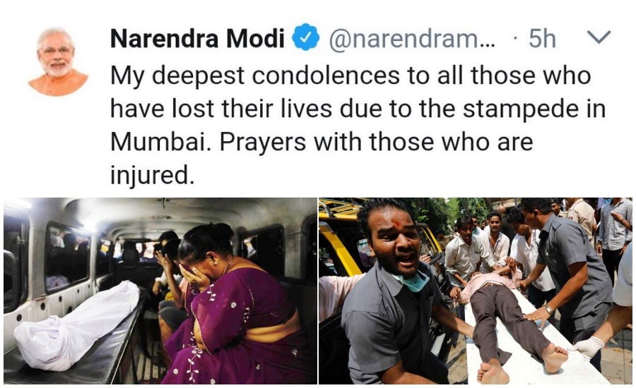 Mumbai Stampede: Modi Deletes Condolence Tweet, Government Under Fire for Ignoring Warnings
