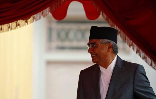 Nepal Prime Minister Sher Bahadur Deuba. Credit: Reuters