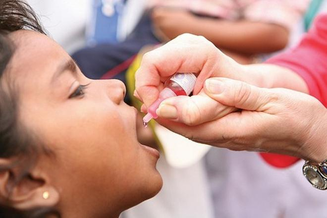 Unlike with polio, where the vaccination has focused on total eradication, here, the government says its focus is on routine immunisation. Credit: Reuters