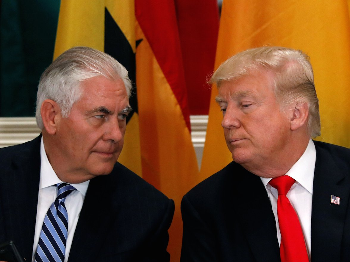 Trump Did Not Challenge Tillerson to an IQ Test Showdown, He Was Simply 'Joking'
