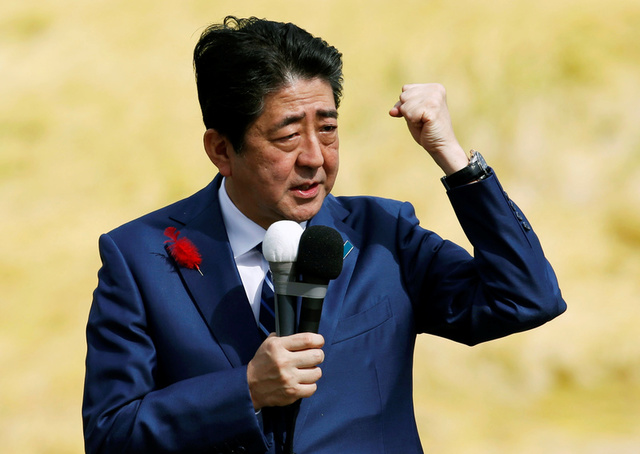 After Strong Election Win, Japan's Abe to Push Pacifist Constitution Reform