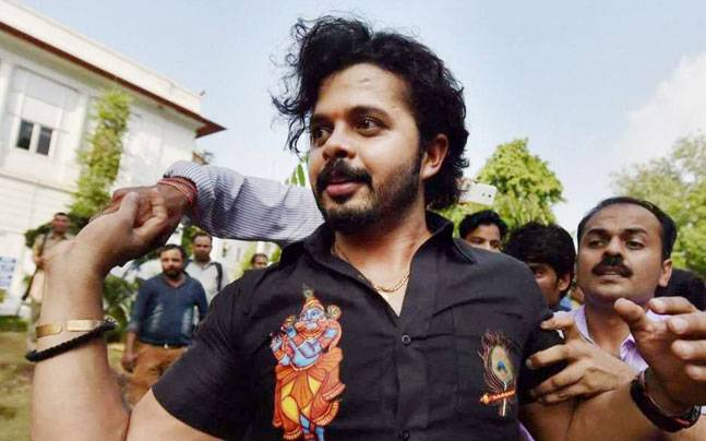 The BCCI's ban, which virtually shuts Sreesanth out from any sort of engagement with the game of cricket, could effectively be the end of the road for the 34-year-old capricious pace bowler. Credit: PTI