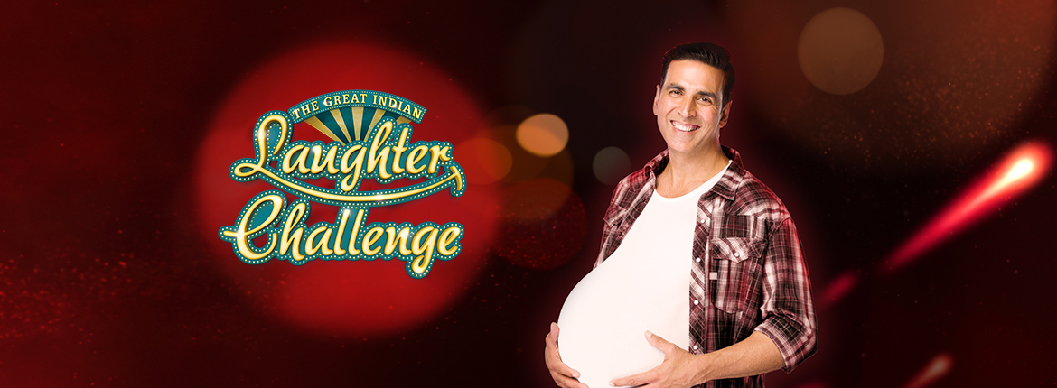 star plus, akshay kumar, the great indian laughter challenge, shyam rangeela