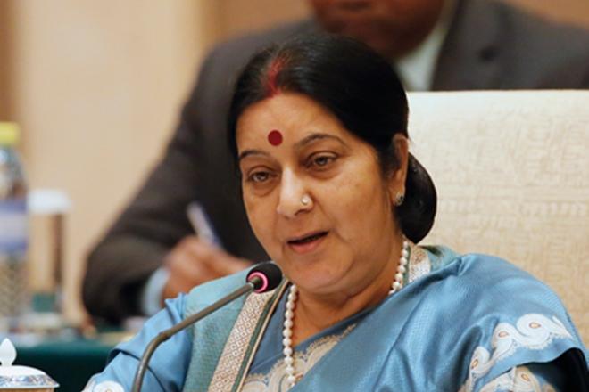 Sushma Swaraj. Credit: Reuters
