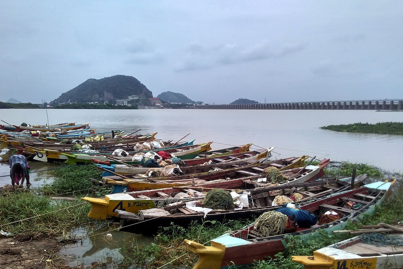 Riverside Projects in Andhra Pradesh Are Driving out Fishing Communities on Krishna River Banks
