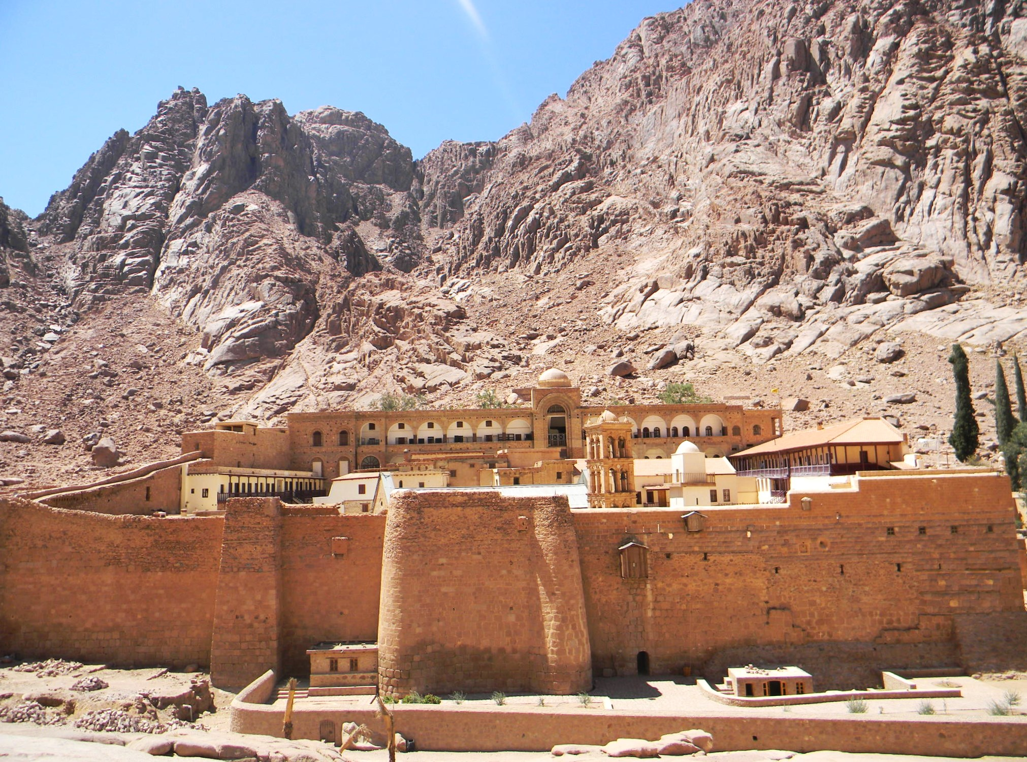 St. Catherine's Monastery, Sinai. Credit: Devdan Chaudhuri