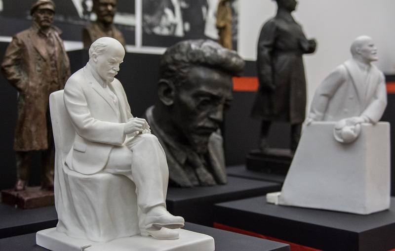 An exhibit to commemorate the centenary of the October Revolution. Courtesy: The State Museum of Political History of Russia