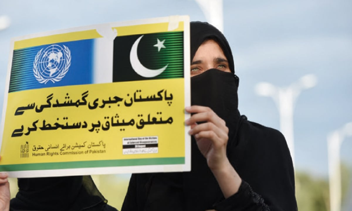 The Anguish Caused by Enforced Disappearances in Pakistan