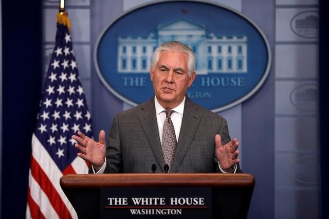 US Diplomats Accuse Rex Tillerson of Breaking Child Soldiers Law