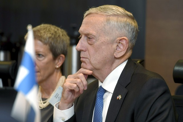 Will Fight ISIS in Syria 'As Long As They Want to Fight', Says James Mattis