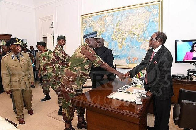 After Military Takeover, Zimbabwe's Mugabe Faces Impeachment