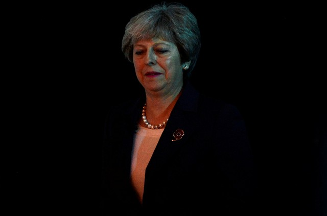 Forty UK Conservative Lawmakers Ready to Oust Theresa May: Sunday Times