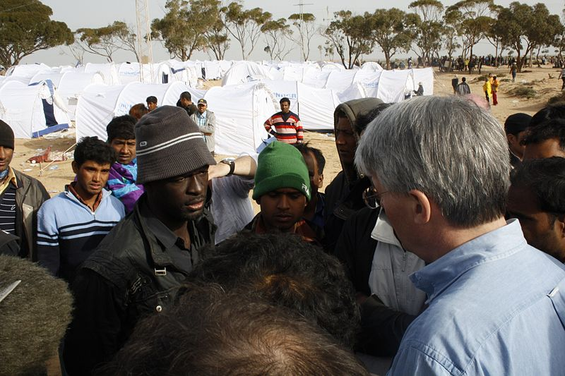First Group of Refugees Evacuated From Libya to Niger by UN