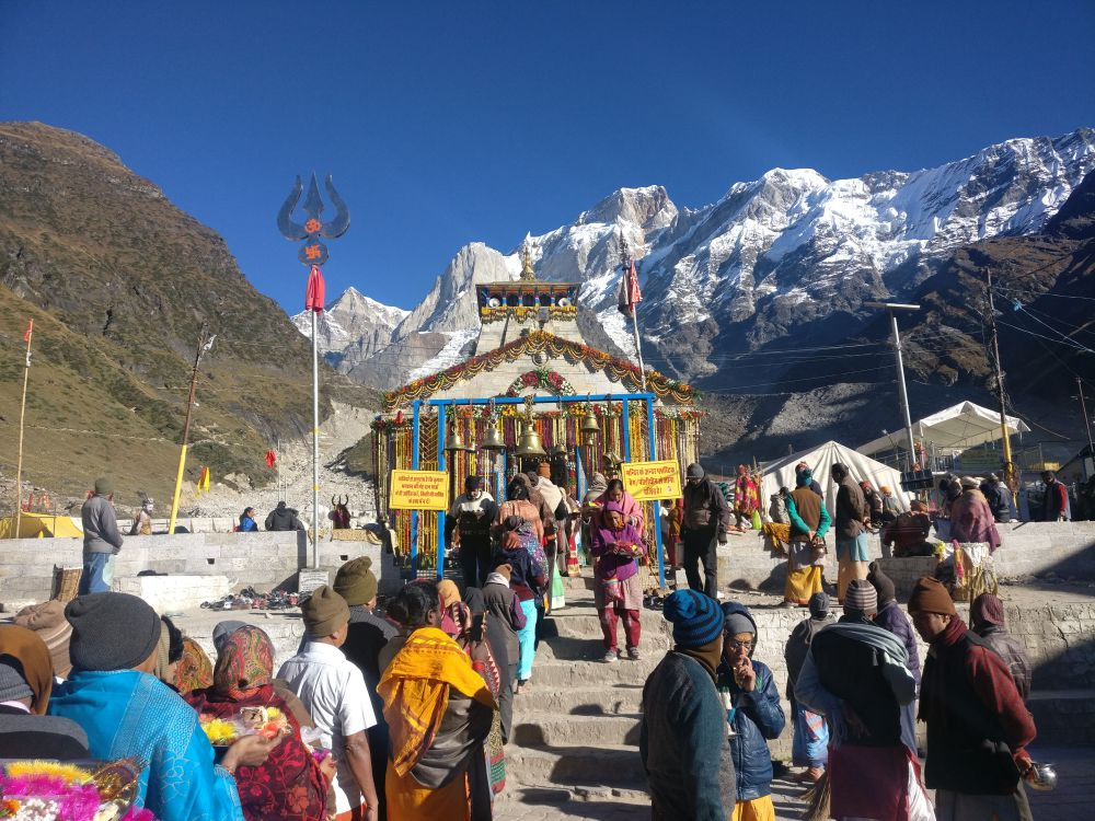 Kedarnath was built between the 9th and 11th century. Credit: Rohit Joshi